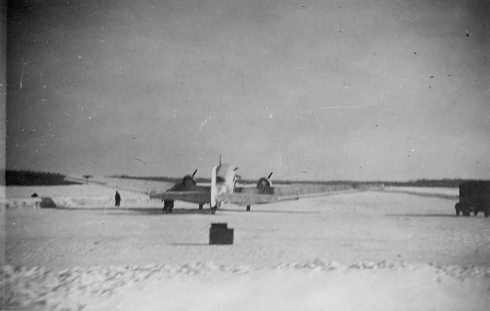 Junkers Ju 52 winter camo