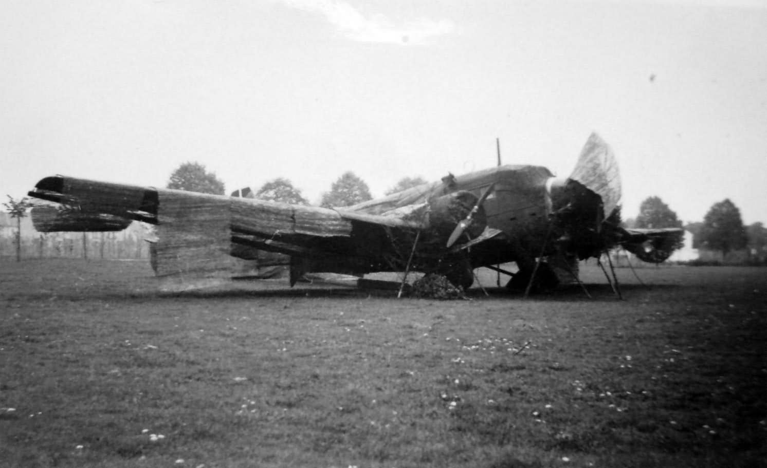camouflaged Junkers Ju 52
