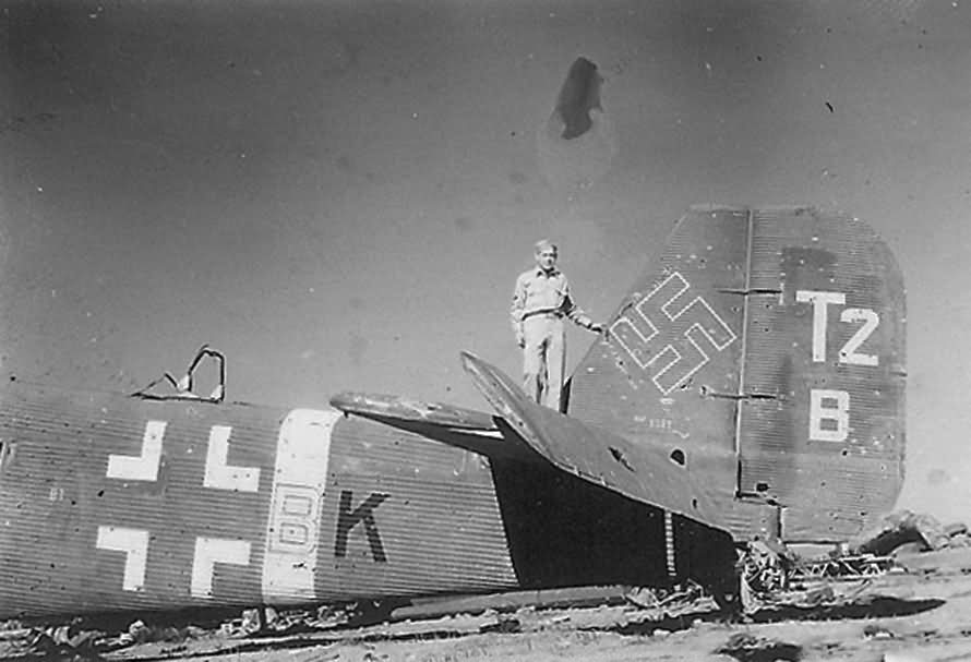 captured Ju52