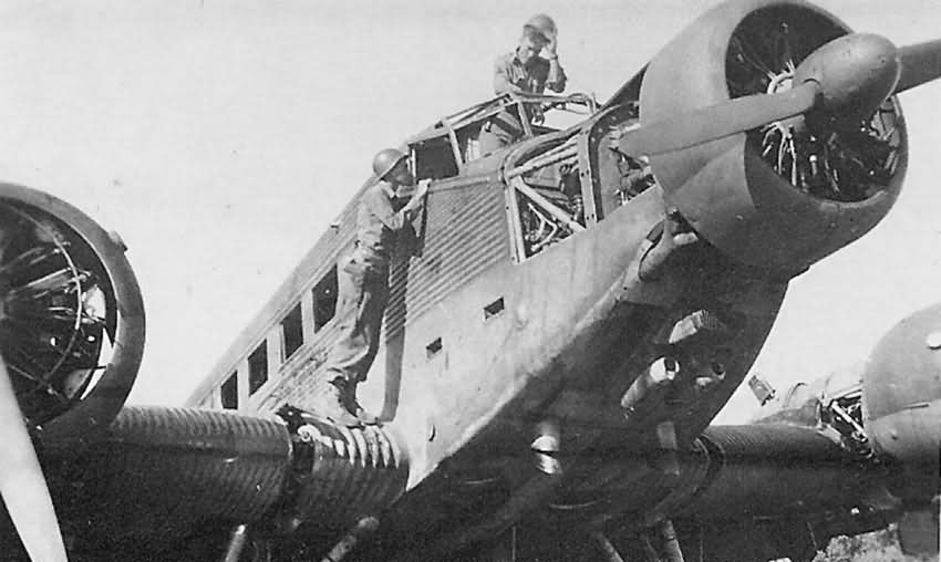 captured Ju 52 3m 13
