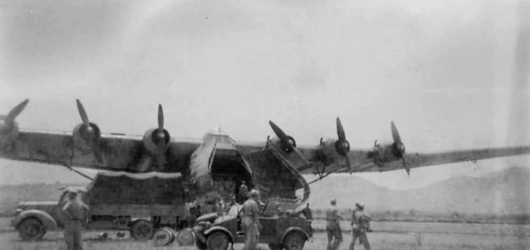 Messerschmitt Me 323 DAK Africa 2