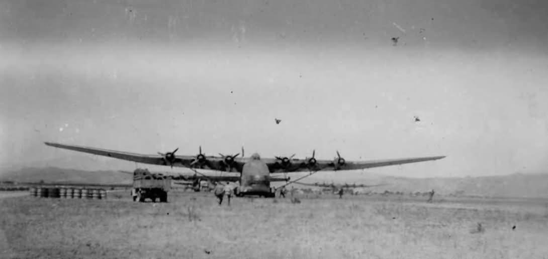 Messerschmitt Me 323 DAK North Africa