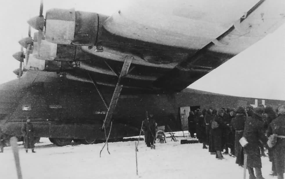 Messerschmitt Me 323 transport plane