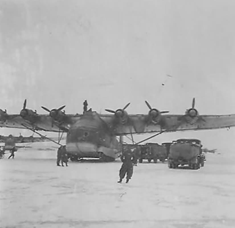 Messerschmitt Me 323 winter