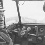 Me323 cockpit and pilot