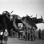 Messerschmitt Me 323 loading doors and the load