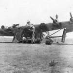 Wreckage of the Messerschmitt Me 323 D 2