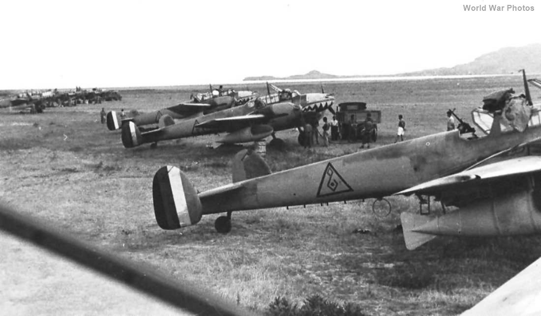 Bf 110D from Sonderkommando Junck Iraq