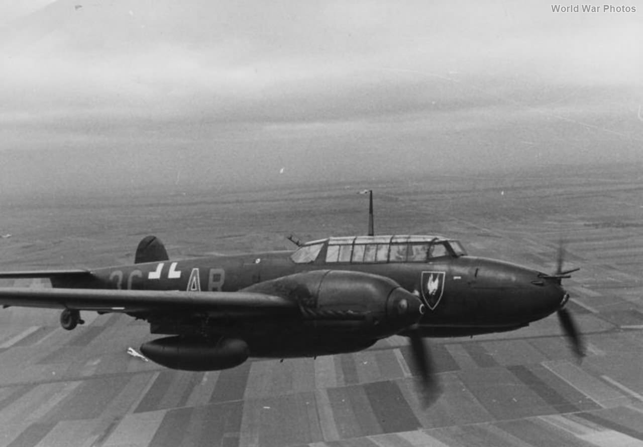 Bf 110E-1 3C-AR of the III/NJG 4 1942