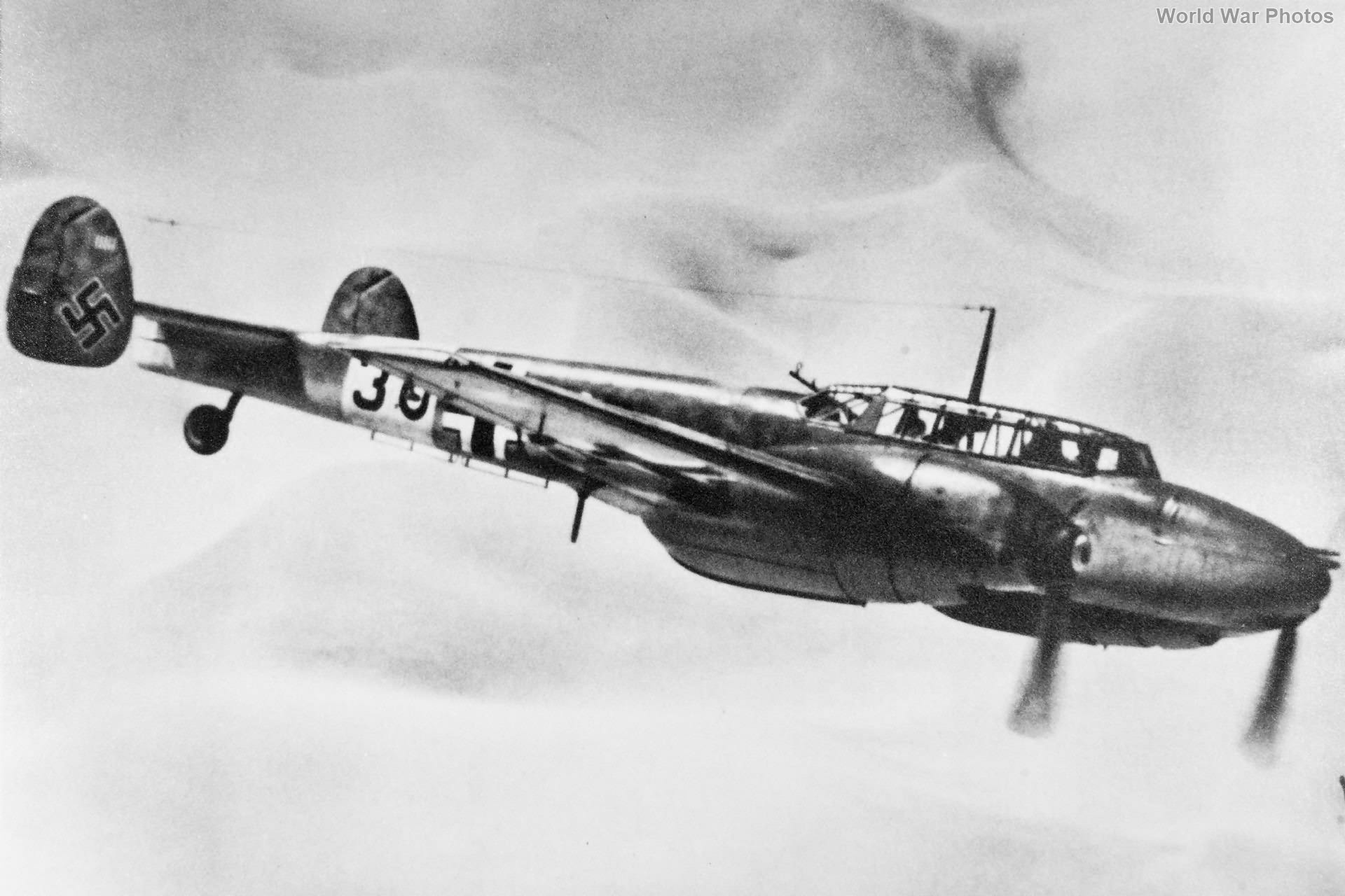 Bf 110 of the ZG26