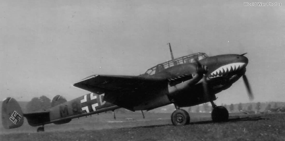 Bf 110 of the ZG 76 2