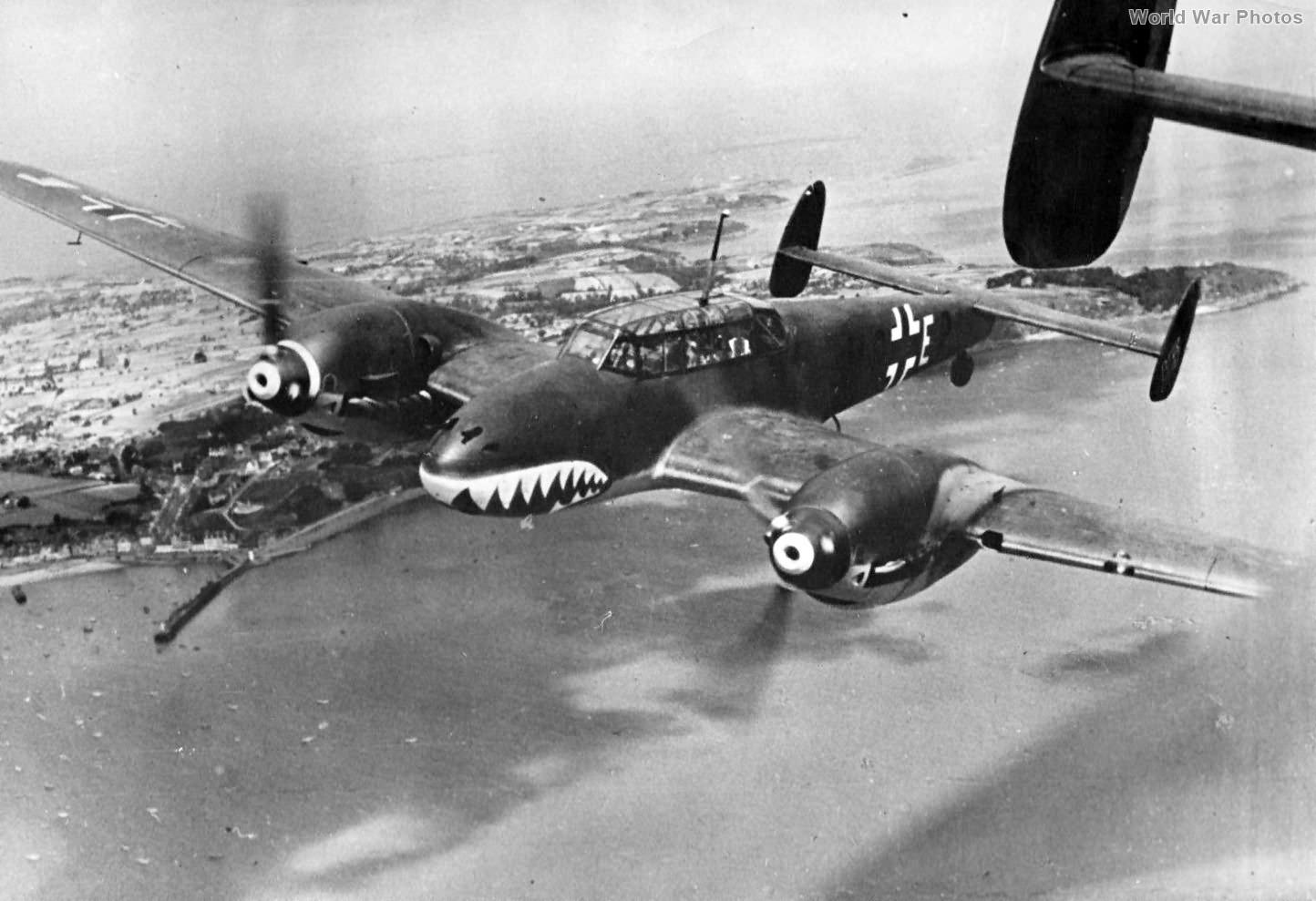 Bf110 ZG 76 1940