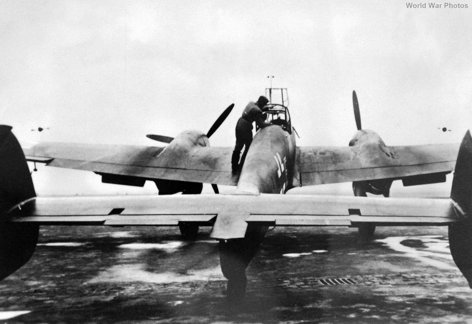 Bf110 rear 1940