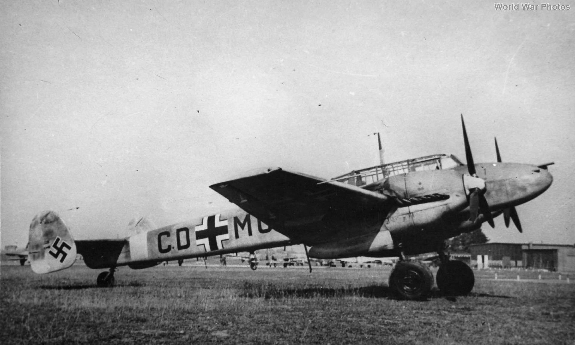 Messerschmitt Bf 110E CD+MO