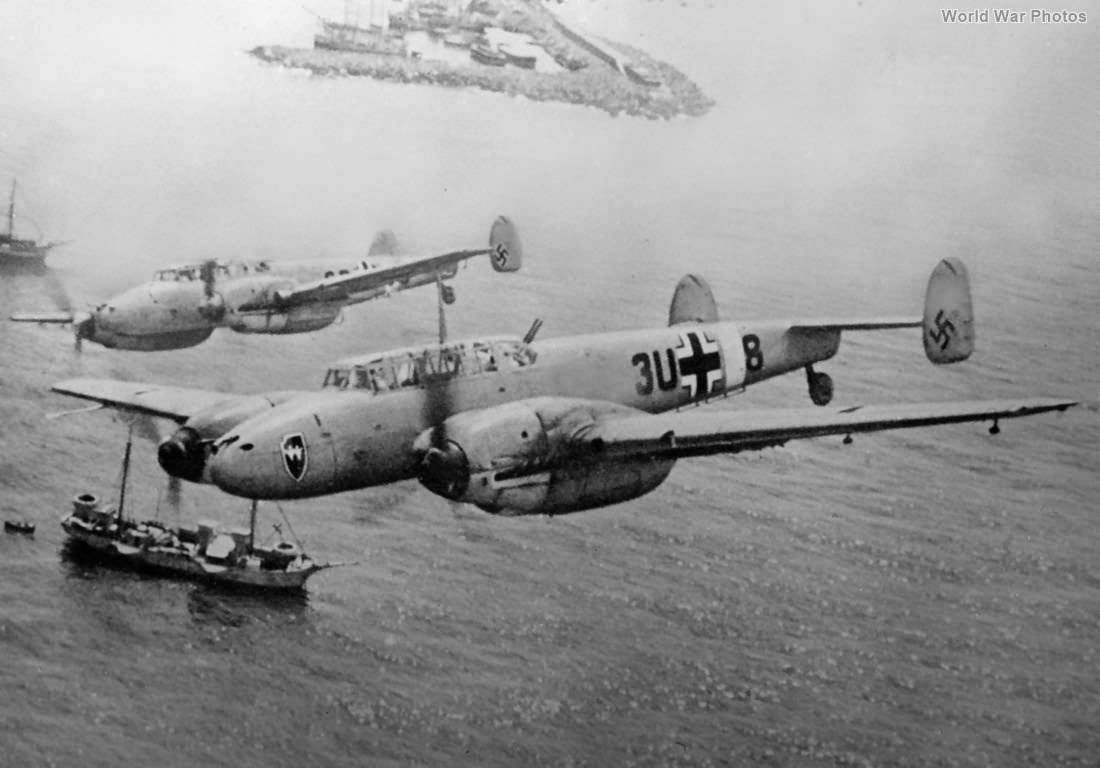 Bf 110s of ZG26
