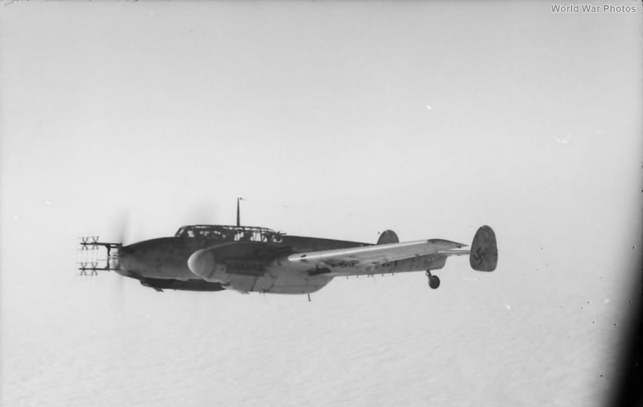 Bf 110G of the 9/NJG 3 in flight