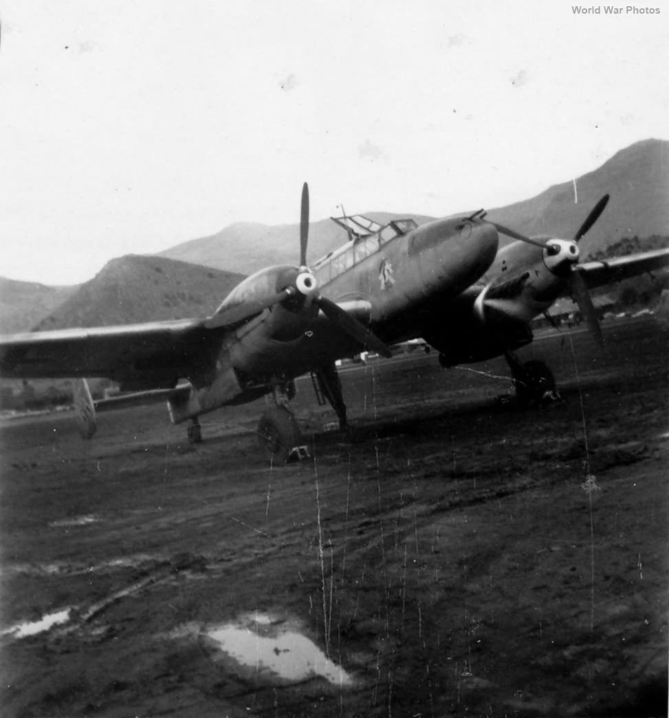 Me110 ZG76
