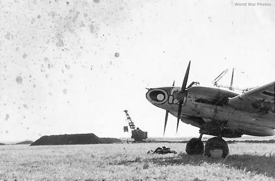 Me110 of Schnellkampfgeschwader 210
