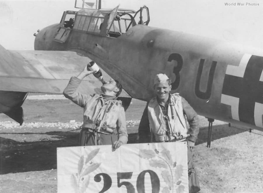 Me 110F-2 3UAR 7ZG 26 250 Feindflug Trapani 1943