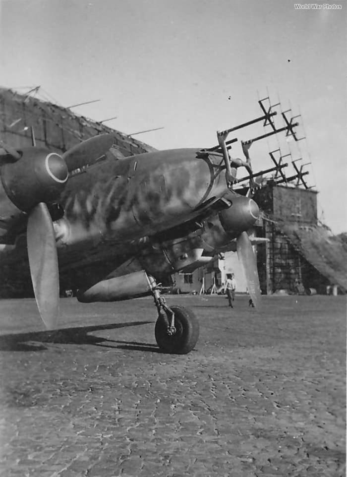 Me 110F-2 FuG 202 Lichtenstein BC 9NJG 3 Luneburg 43