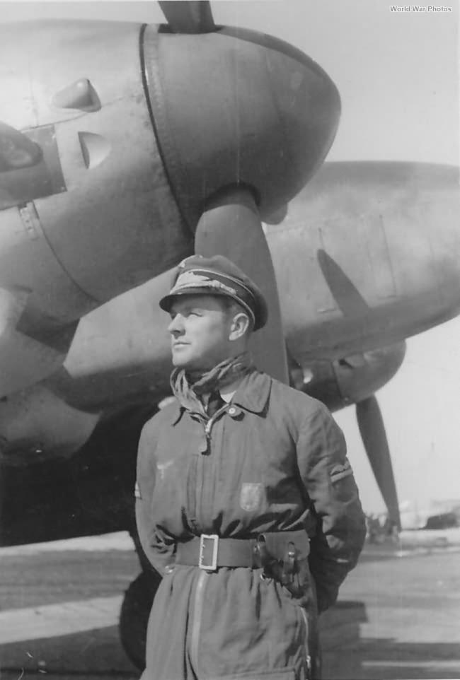 Me 110G-2 1/ZG 1, pilot Lt Classen Lippspringe 1943