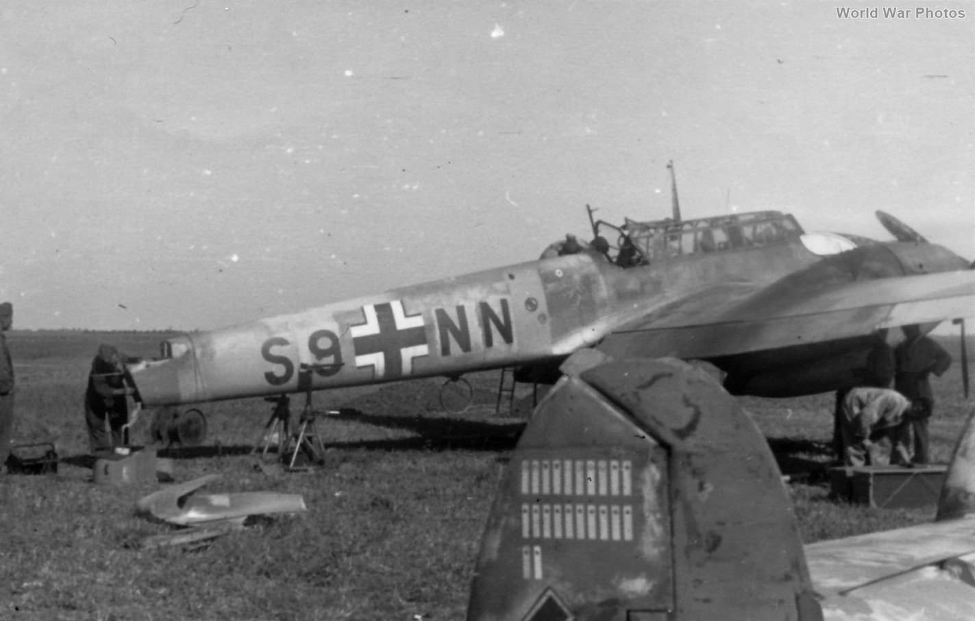 Me 110 S9+NN of the 1/SKG 210