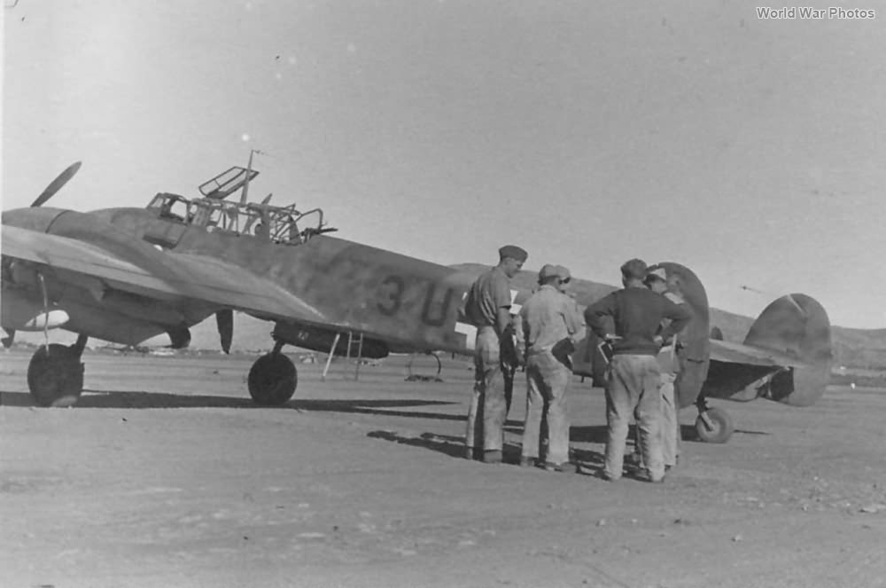 Me 110 of the 9/ZG 26 Africa 1942
