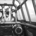 A Pilot in the cockpit of a Bf 110