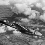Me 110 of the ZG 26 in flight