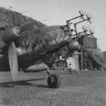 Me 110F-2 of 9/NJG 3 with FuG 202 Lichtenstein BC Luneburg 1943
