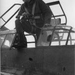 Me 110 rear gunner