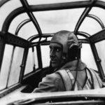 Pilot of the Messerschmitt Me 110 1940