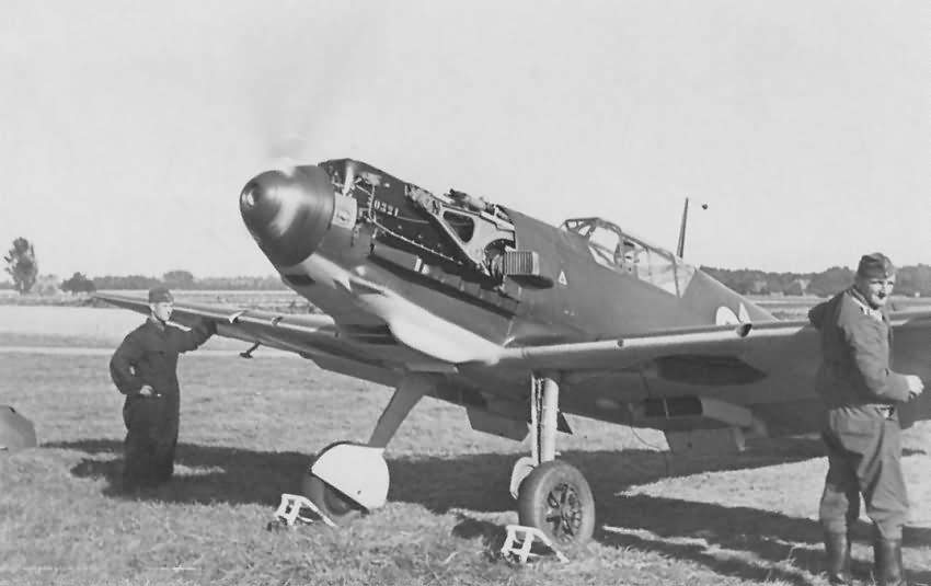 Bf109E from 7./JG 26 in Werl 1939