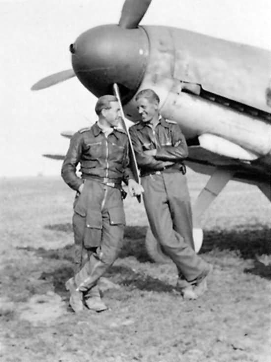 Bf109G 6.JG 51 Fritz Luddecke Summer 1942