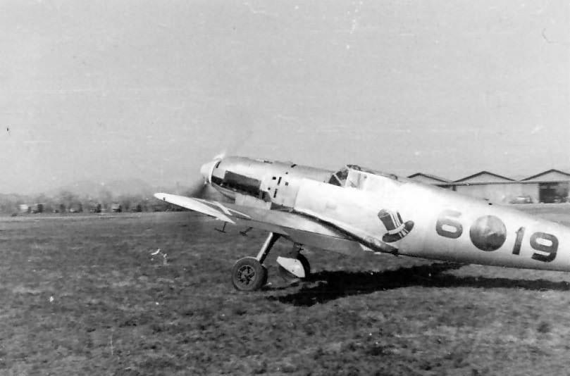 "Bf109 B code 6-19 of 2/J 88 ""Legion Condor"""