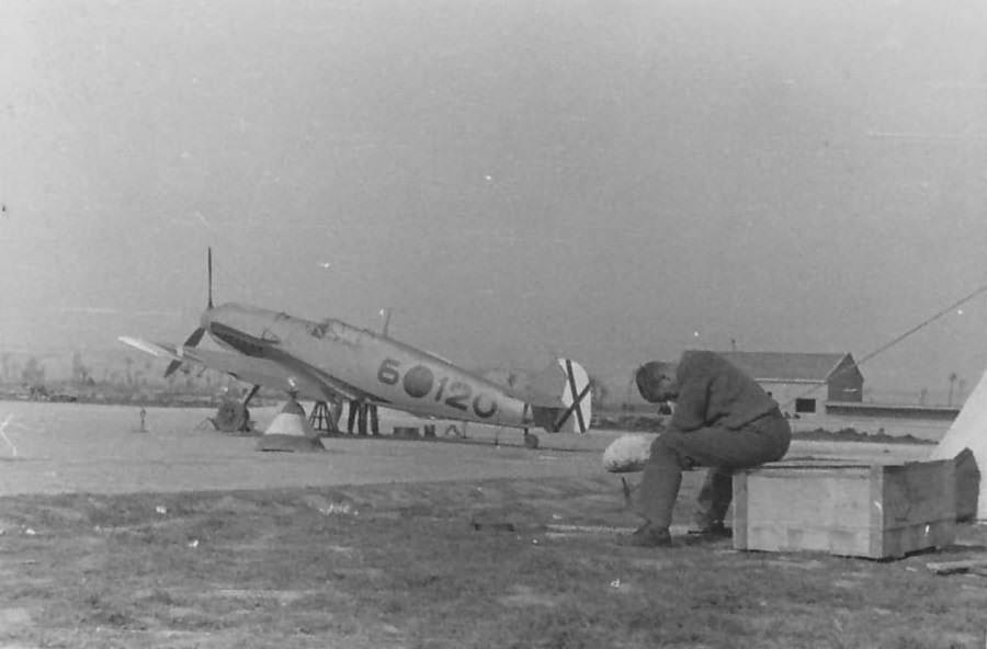 Bf 109 E-3 6-120 of the Legion Condor, Spain 1939