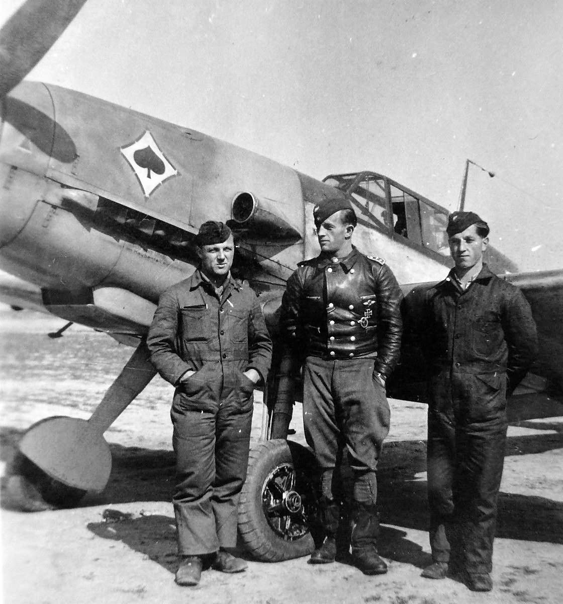 Bf109 of the JG 53 As Pik