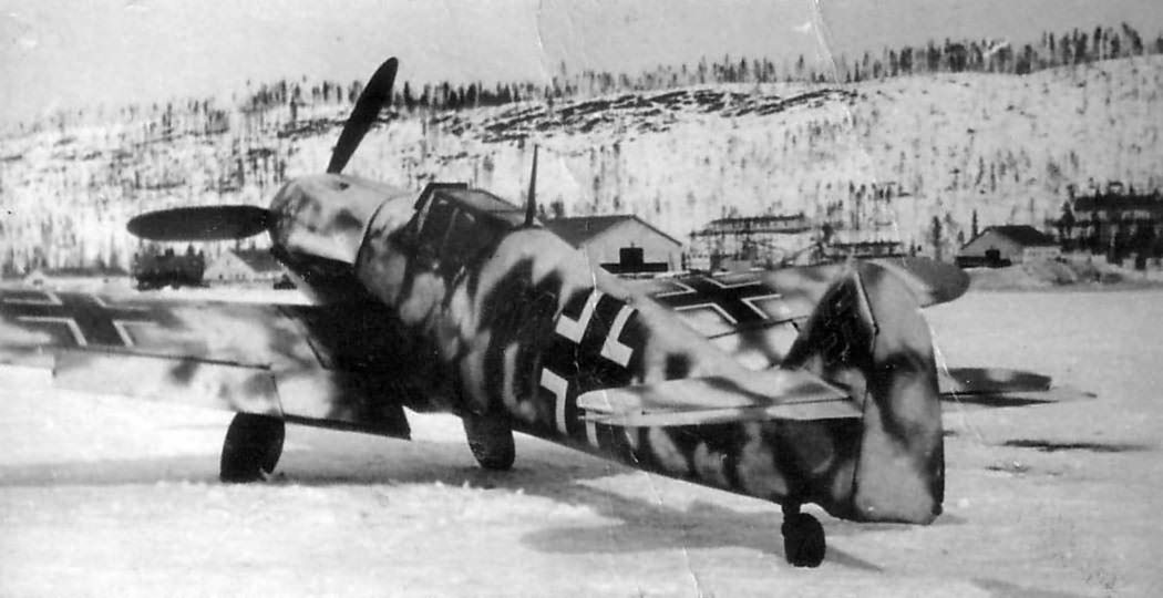 Bf109 11 from JG 5 Norway