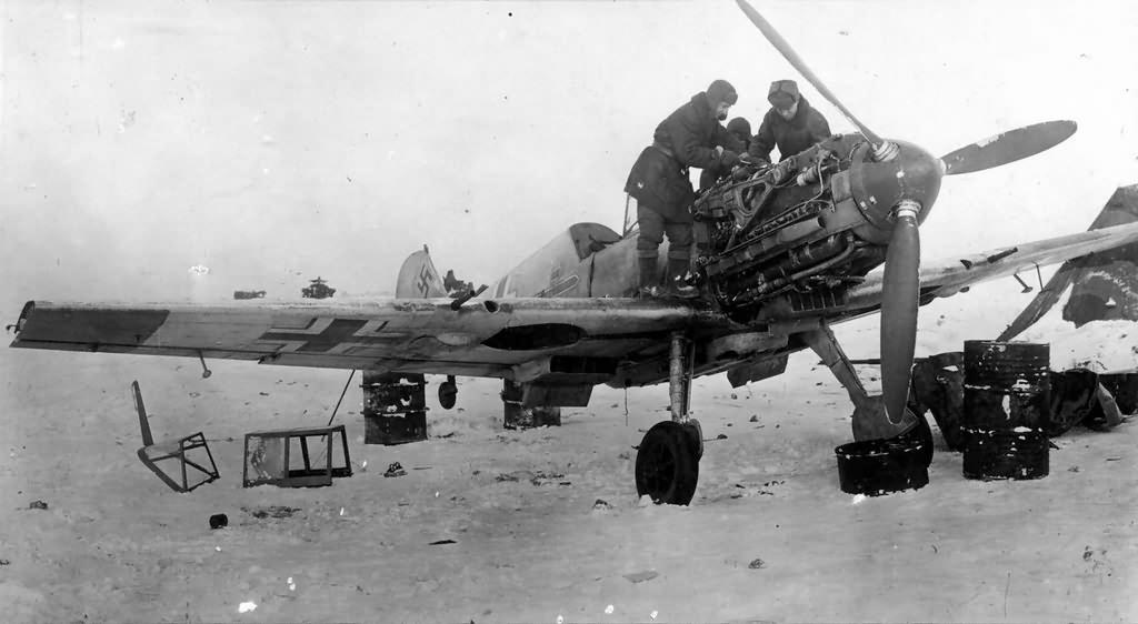 Bf109E Stalingrad 1943