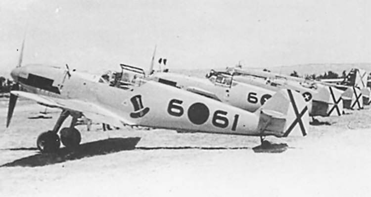 Bf 109 D-1 6-61 from Jagd Gruppe/88 Legion Condor 1938