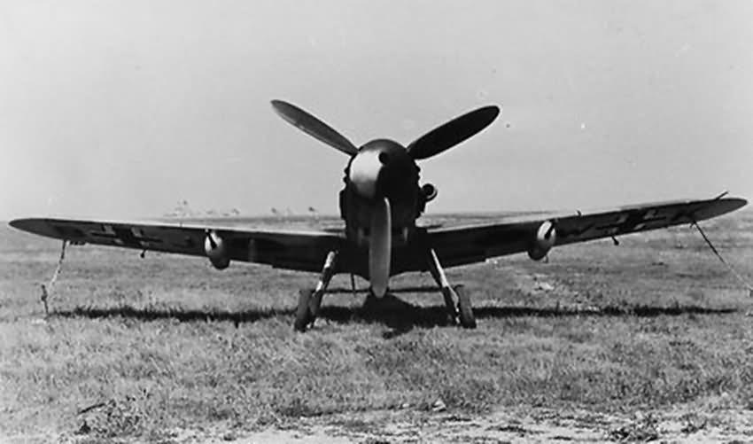 Bf 109 in Wiener Neustadter Flugzeugwerke factory 11