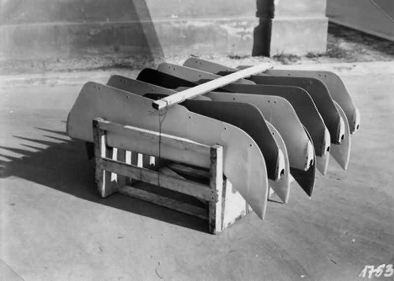 Bf 109 in Wiener Neustadter Flugzeugwerke factory 16