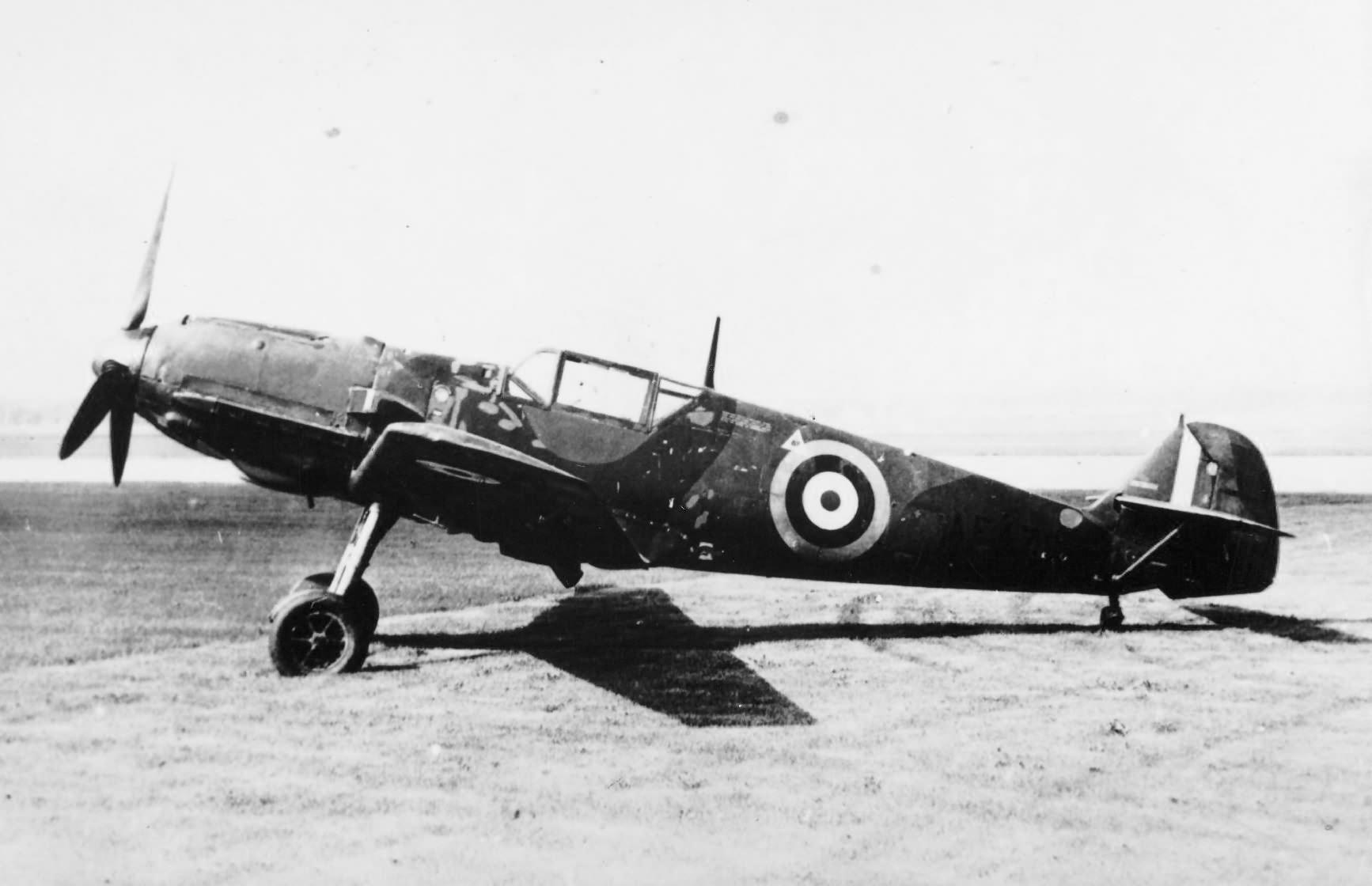 Me 109E-3 W.Nr. 1304, AE479 RAF, ex 1./JG 76