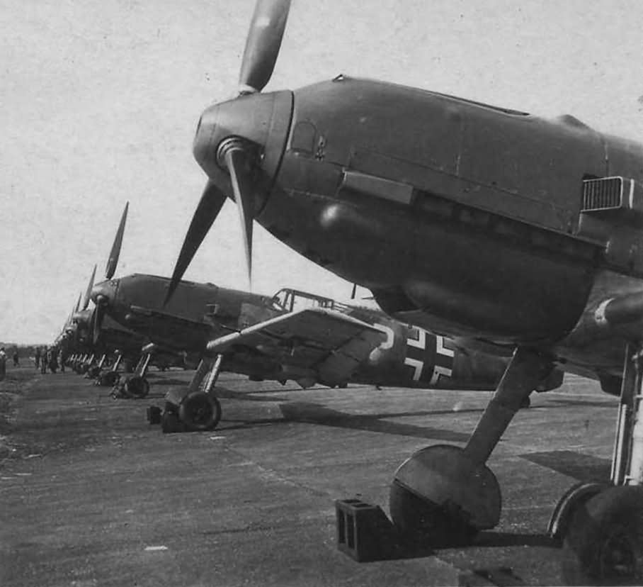 Messerschmitt Bf109E fighters