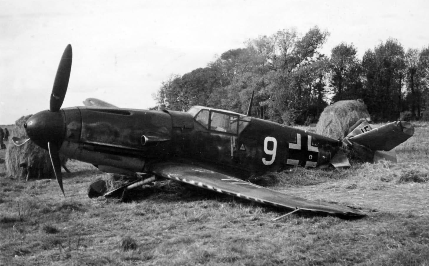 Messerschmitt Bf109F JG51 white 9 eastern front