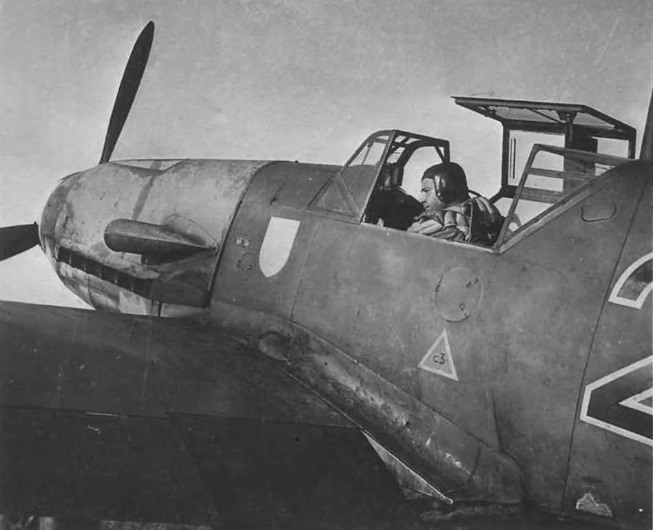Messerschmitt Bf109F number 2