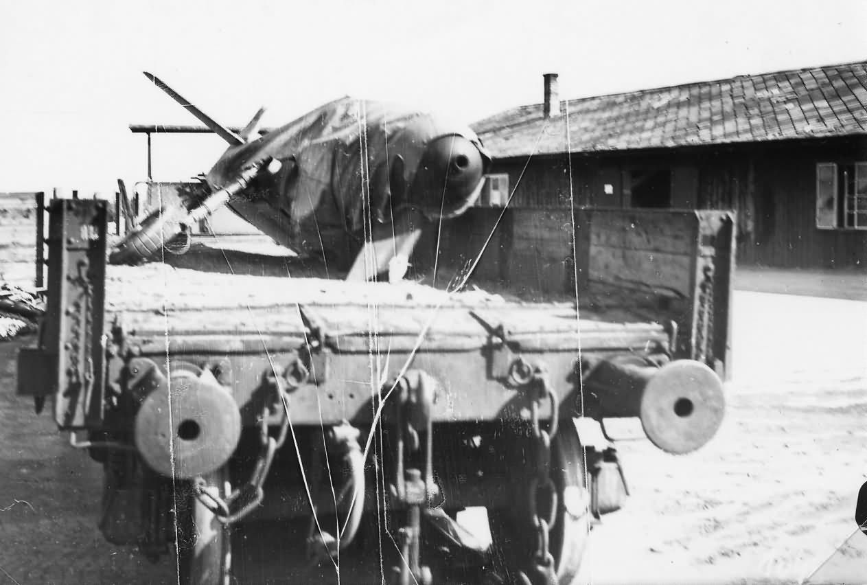 Messerschmitt Bf109 Wiener Neustadter Flugzeugwerke 107
