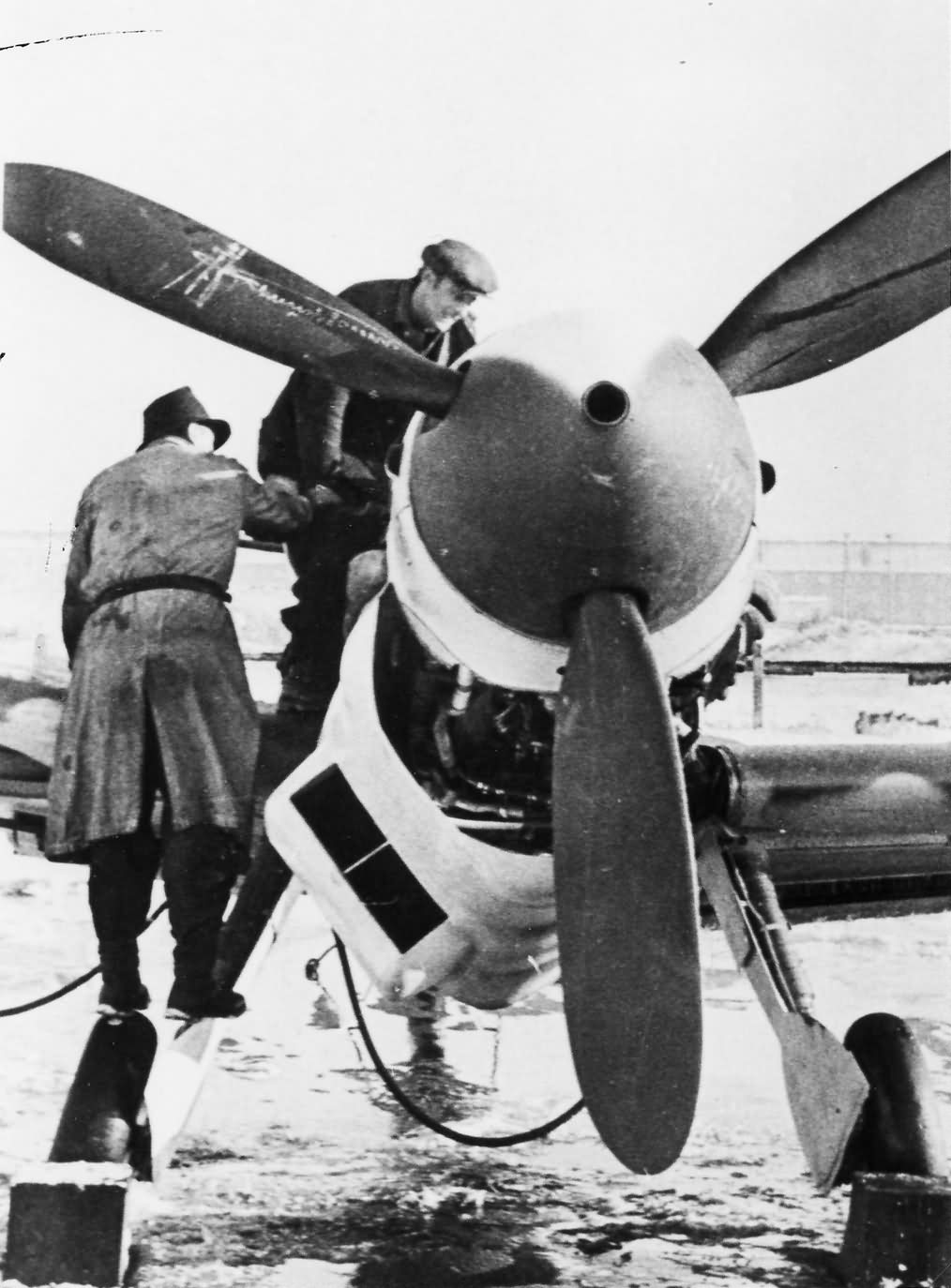 Messerschmitt Bf109 Wiener Neustadter Flugzeugwerke 139