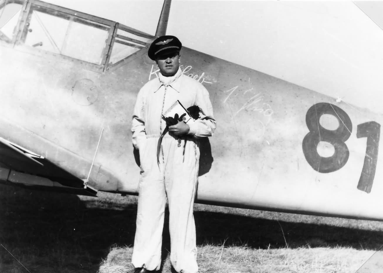 Messerschmitt Bf109 Wiener Neustadter Flugzeugwerke 81