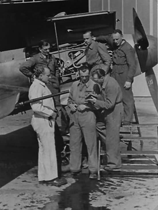 Messerschmitt Bf109 Wiener Neustadter Flugzeugwerke 90